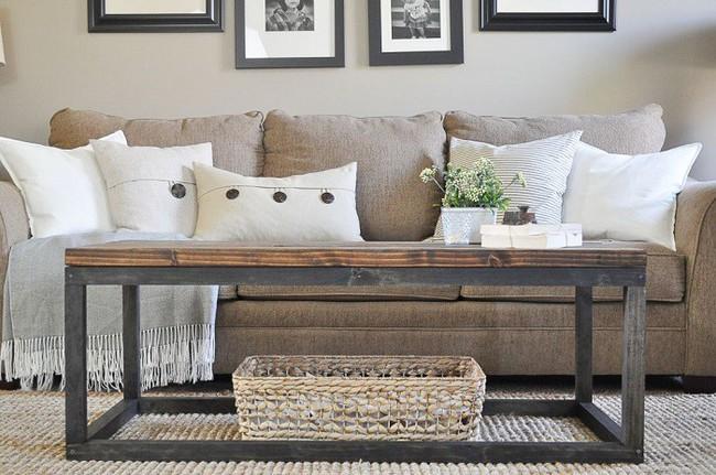 10 mẫu bàn uống nước bằng gỗ cực dễ làm mà bạn có thể tự thực hiện ngay tại nhà mình - Ảnh 7.