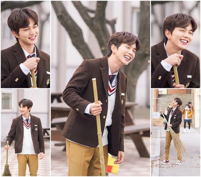 Yoo Seung Ho đã dùng tuyệt chiêu này để khiến bản thân trở thành bảo bối của cả đoàn phim - Ảnh 2.