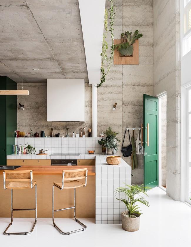 Ngôi nhà xanh vô cùng thân thiện với môi trường, được cặp đôi tự tay thiết kế bằng vật liệu tái chế  - Ảnh 6.