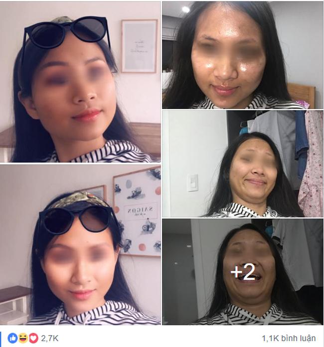 Đăng ảnh trước và sau khi chỉnh ảnh, cô gái nay đã chứng minh: Dù mắt có tinh cũng đừng tin ảnh gái trên mạng - Ảnh 1.