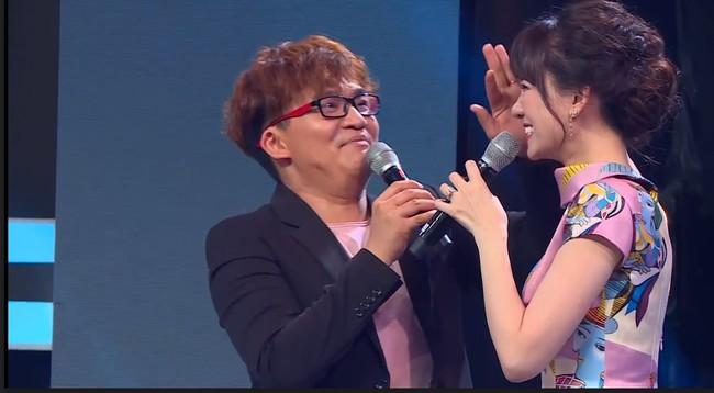Hari Won uất ức tố Đại Nghĩa chèn ép, ăn hiếp cô trên sóng truyền hình  - Ảnh 1.