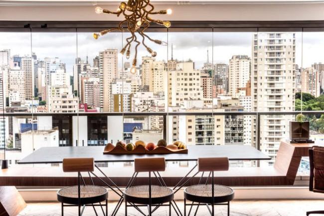 Căn hộ chỉ vỏn vẹn 50m² nhưng sở hữu tầm nhìn ôm trọn cả thành phố lớn vô cùng đáng sống - Ảnh 2.