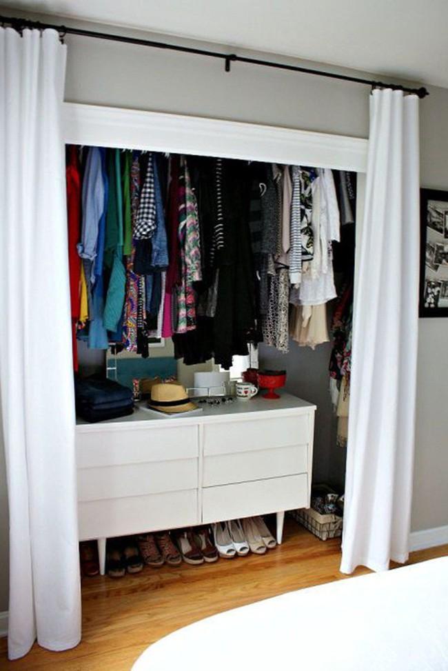 Những lời khuyên hữu ích cho vấn đề muôn thủa: Tủ quần áo trong phòng ngủ chật - Ảnh 23.