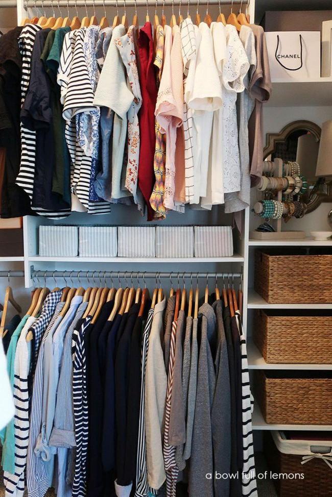 Những lời khuyên hữu ích cho vấn đề muôn thủa: Tủ quần áo trong phòng ngủ chật - Ảnh 6.