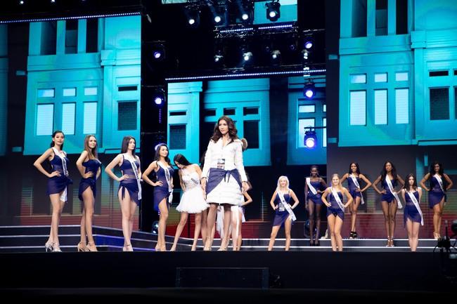 Minh Tú nổi bật trên sân khấu tổng duyệt Chung kết Miss Supranational 2018 - Ảnh 8.