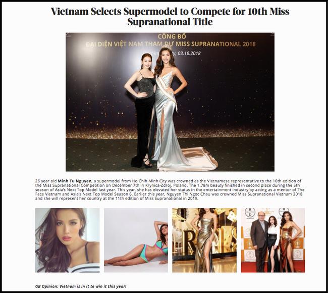Nhìn lại hành trình của Minh Tú tại Miss Supranational 2018: Từ ồn ào mua giải, bị chơi xấu tới vị trí top 10 - Ảnh 4.