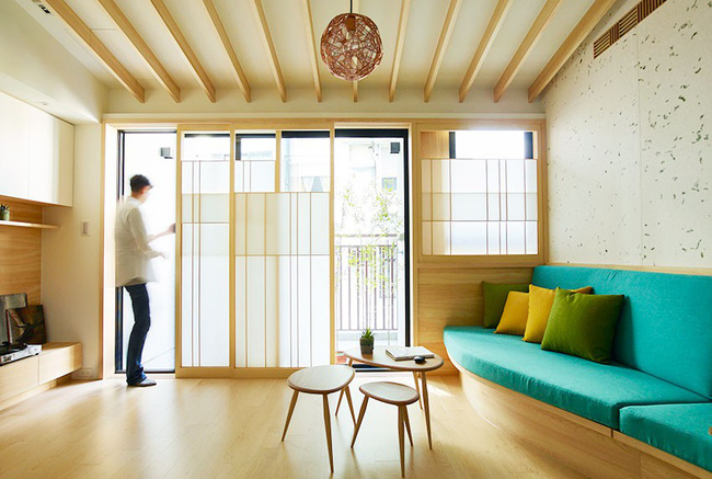 Chàng trai quyết rời nhà bố mẹ, dọn ra ở riêng trong căn hộ nhỏ xinh theo phong cách Nhật - Ảnh 6.