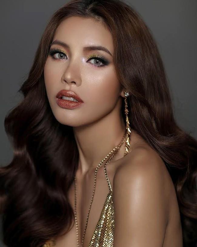 Minh Tú được trao cúp Hoa hậu Siêu quốc gia 2018 do khán giả bình chọn - Ảnh 3.
