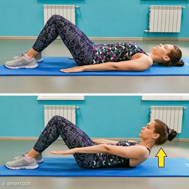 Không cần đến phòng gym, 9 bài tập giảm mỡ bụng sau sinh đơn giản này sẽ giúp các mẹ lấy lại vòng eo mơ ước - Ảnh 5.