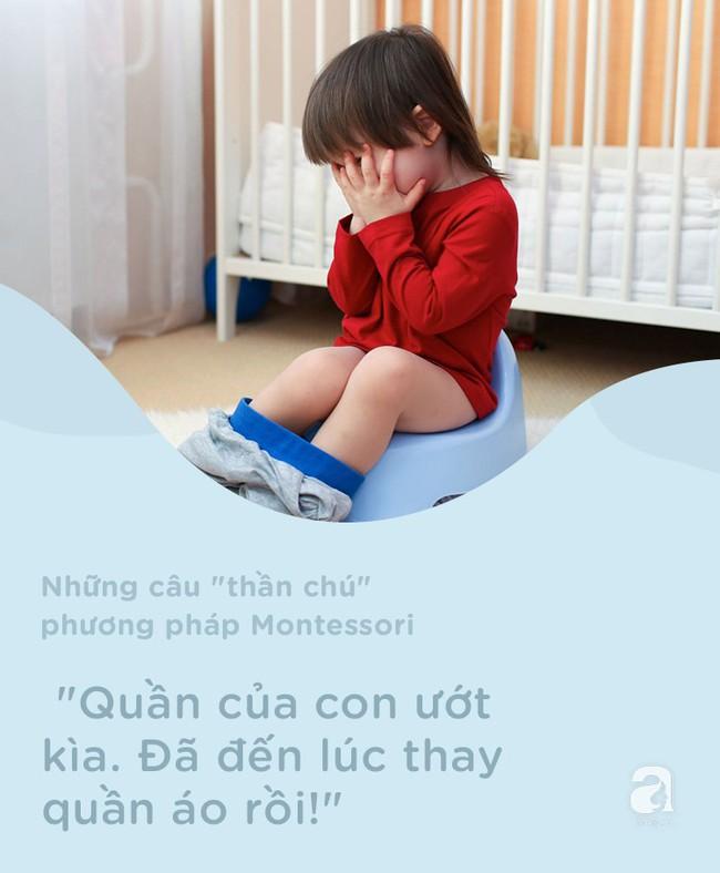 8 câu thần chú từ phương pháp Montessori giúp dạy bé đi vệ sinh dễ dàng - Ảnh 9.