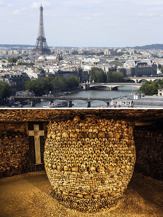 Cảnh rùng rợn trong hầm mộ chứa 6 triệu hài cốt và bí ẩn những cấm địa đáng sợ nhất hành tinh, nghe tò mò nhưng không dám bén mảng - Ảnh 1.