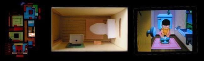 Trở lại với tuổi thơ khi được ngắm nhìn lại toàn bộ ngôi nhà của Nobita và Doraemon một cách chân thực nhất - Ảnh 12.