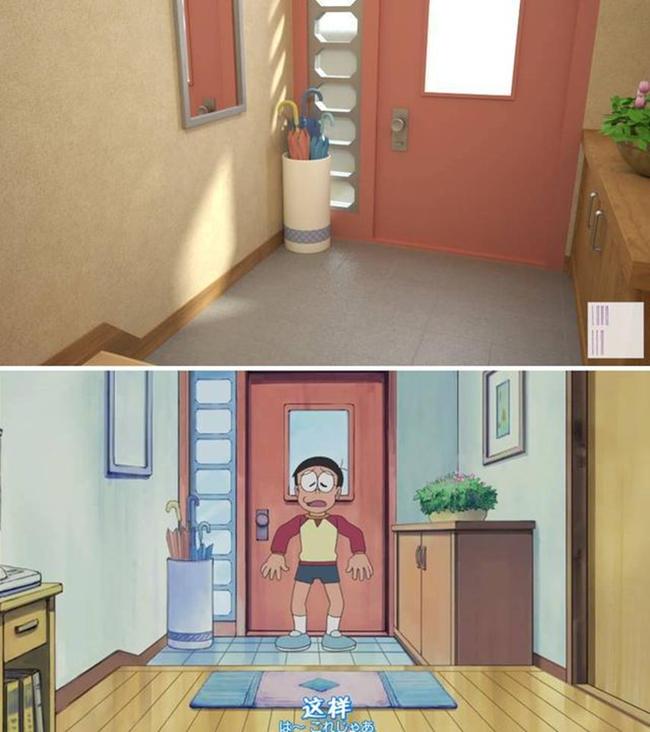 Trở lại với tuổi thơ khi được ngắm nhìn lại toàn bộ ngôi nhà của Nobita và Doraemon một cách chân thực nhất - Ảnh 4.