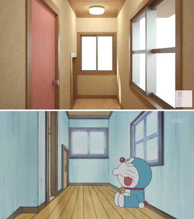 Trở lại với tuổi thơ khi được ngắm nhìn lại toàn bộ ngôi nhà của Nobita và Doraemon một cách chân thực nhất - Ảnh 6.