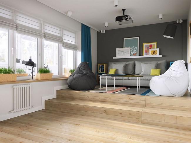 Mê mẩn với thiết kế căn hộ chỉ 34m² nhưng rất đa năng và hiện đại đến từng chi tiết - Ảnh 3.