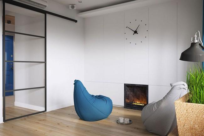 Mê mẩn với thiết kế căn hộ chỉ 34m² nhưng rất đa năng và hiện đại đến từng chi tiết - Ảnh 4.