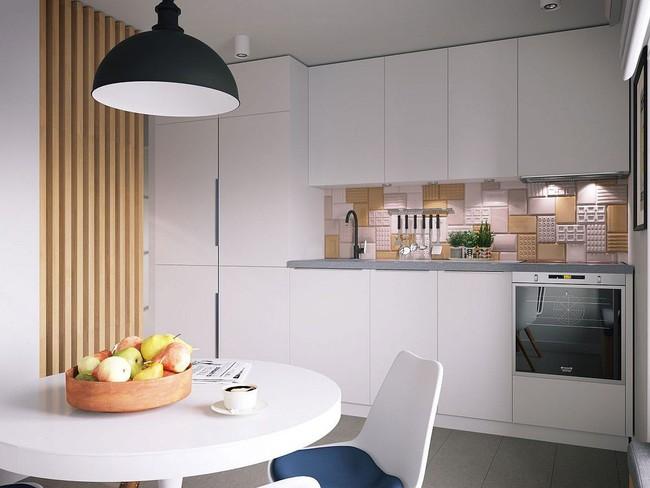 Mê mẩn với thiết kế căn hộ chỉ 34m² nhưng rất đa năng và hiện đại đến từng chi tiết - Ảnh 6.