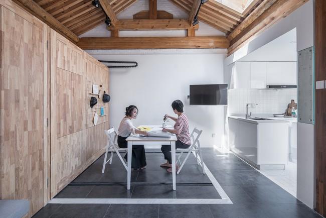 Ngôi nhà nhỏ ấm cúng có diện tích chỉ vỏn vẹn 30m² với thiết kế thông minh ở phố cổ  - Ảnh 11.