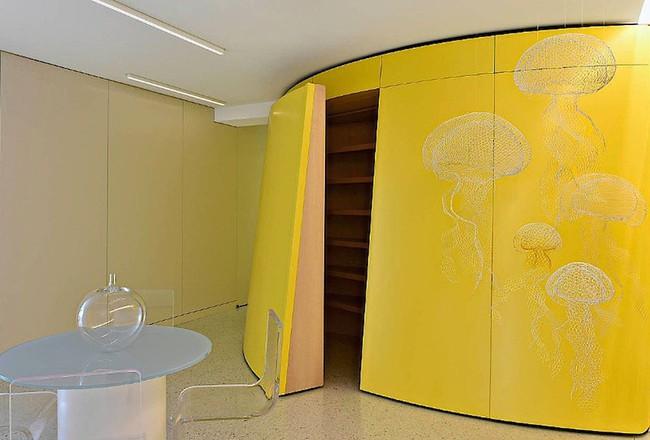 Ấn tượng với căn hộ sử dụng màu sắc để phân biệt các phòng vô cùng hiệu quả  - Ảnh 6.