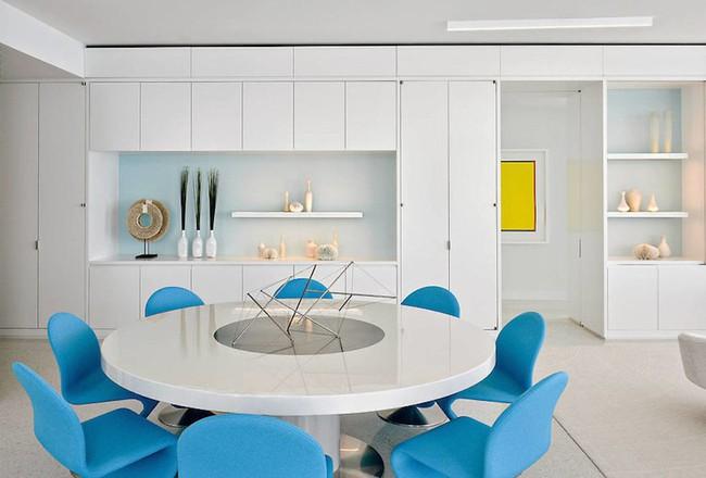Ấn tượng với căn hộ sử dụng màu sắc để phân biệt các phòng vô cùng hiệu quả  - Ảnh 7.
