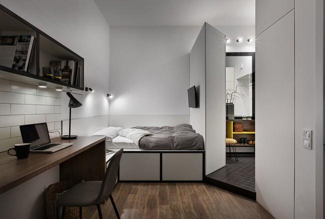 Căn hộ nhỏ vỏn vẹn gần 18m² này chứng minh cho bạn thấy ở nhà nhỏ vẫn tuyệt như nhà to - Ảnh 11.