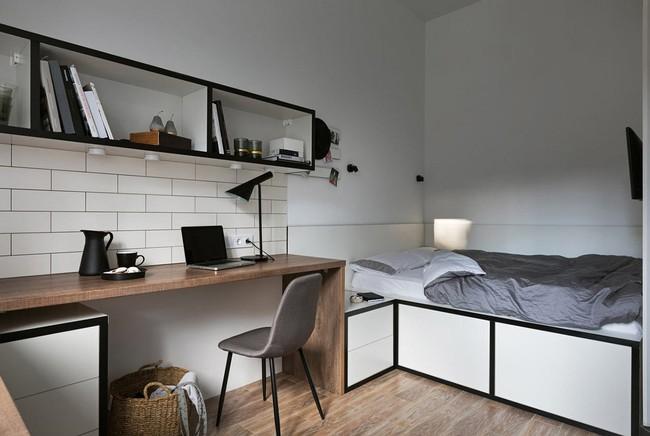 Căn hộ nhỏ vỏn vẹn gần 18m² này chứng minh cho bạn thấy ở nhà nhỏ vẫn tuyệt như nhà to - Ảnh 3.