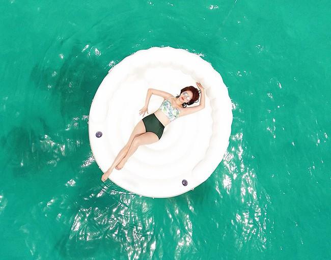 Đi du lịch có 1 tuần nhưng Bảo Thy mang gần chục bộ đồ bơi để chụp ảnh thả dáng - Ảnh 7.