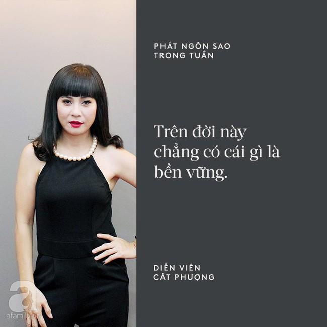 Cát Phượng mập mờ về tin đồn chia tay Kiều Minh Tuấn; Nhã Phương chính thức chia sẻ chuyện kết hôn với Trường Giang - Ảnh 1.