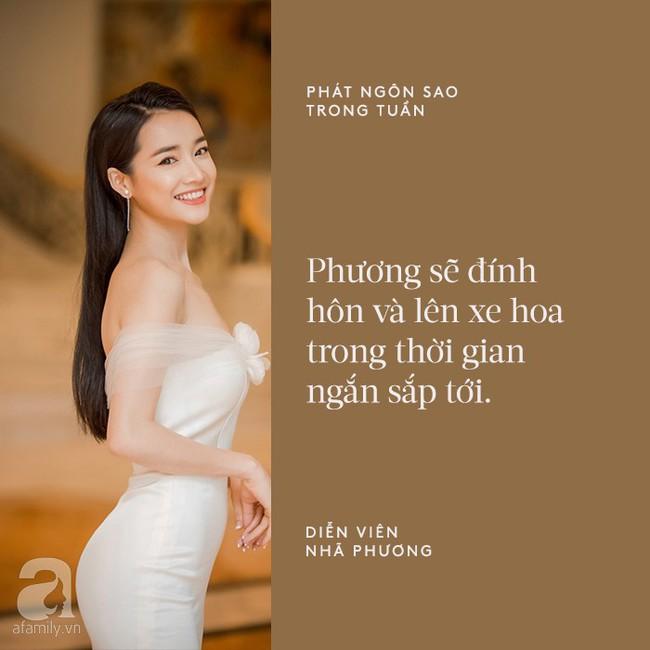 Cát Phượng mập mờ về tin đồn chia tay Kiều Minh Tuấn; Nhã Phương chính thức chia sẻ chuyện kết hôn với Trường Giang - Ảnh 2.