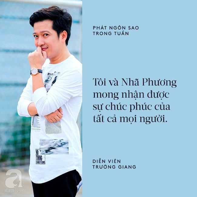 Cát Phượng mập mờ về tin đồn chia tay Kiều Minh Tuấn; Nhã Phương chính thức chia sẻ chuyện kết hôn với Trường Giang - Ảnh 3.