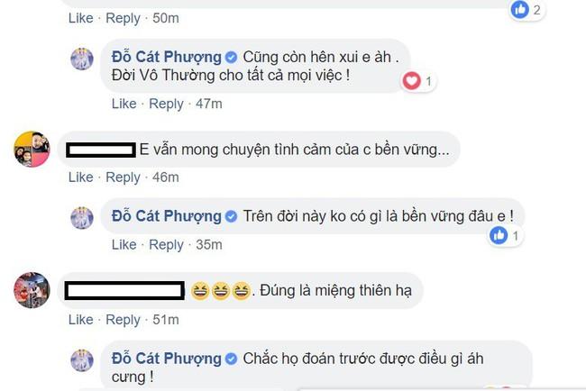 Rộ tin đồn chia tay Kiều Minh Tuấn, Cát Phượng phản ứng bất ổn - Ảnh 2.