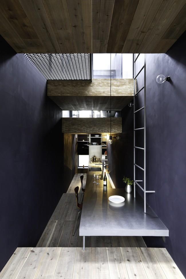 Với mặt tiền chưa đầy 2m, ngôi nhà ở Nhật Bản này cho chúng ta thấy với sự sáng tạo, không gì là không thể làm được  - Ảnh 7.