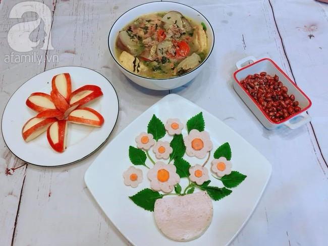 Mẹ Tít chia sẻ thực đơn đẹp lung linh mà chưa tới 80k - Ảnh 5.