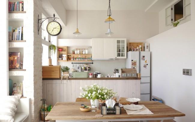 Căn hộ đẹp bình yên với nội thất nhỏ gọn cùng cách sắp xếp đồ thông minh của vợ chồng trẻ - Ảnh 1.
