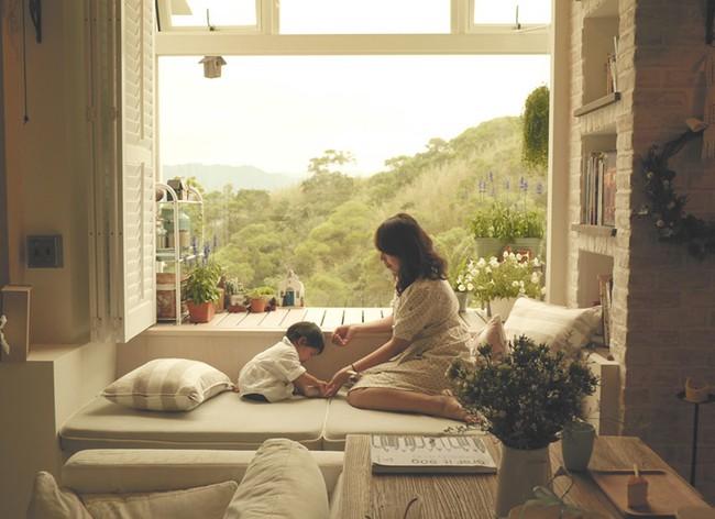 Căn hộ đẹp bình yên với nội thất nhỏ gọn cùng cách sắp xếp đồ thông minh của vợ chồng trẻ - Ảnh 10.