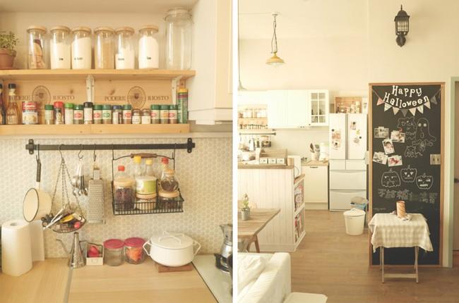 Căn hộ đẹp bình yên với nội thất nhỏ gọn cùng cách sắp xếp đồ thông minh của vợ chồng trẻ - Ảnh 6.