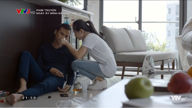Tạm quên Hạ - Tùng - Nam, chi tiết khiến khán giả hả hê nhất tập 23 Ngày ấy mình đã yêu là đây - Ảnh 2.