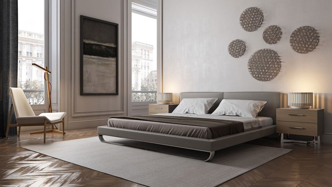 15 thiết kế giường ngủ sang chảnh lại thoải mái khiến bạn không muốn rời phòng ngủ chút nào - Ảnh 7.