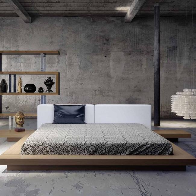 15 thiết kế giường ngủ sang chảnh lại thoải mái khiến bạn không muốn rời phòng ngủ chút nào - Ảnh 9.