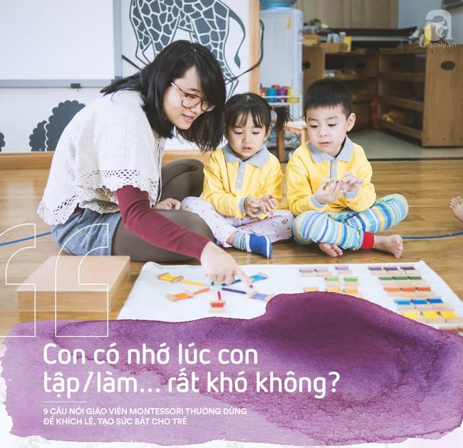 Học cách giáo viên Montessori nói với trẻ để nuôi dạy con thành người luôn mạnh mẽ và đầy tự tin - Ảnh 5.