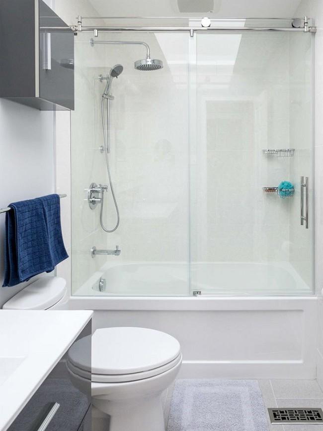 Vẫn diện tích đó nhưng chỉ cần làm theo 8 lời khuyên dưới đây, phòng tắm nhà bạn sẽ rộng hơn tức thì - Ảnh 2.