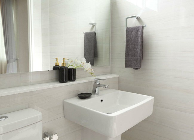 Vẫn diện tích đó nhưng chỉ cần làm theo 8 lời khuyên dưới đây, phòng tắm nhà bạn sẽ rộng hơn tức thì - Ảnh 4.