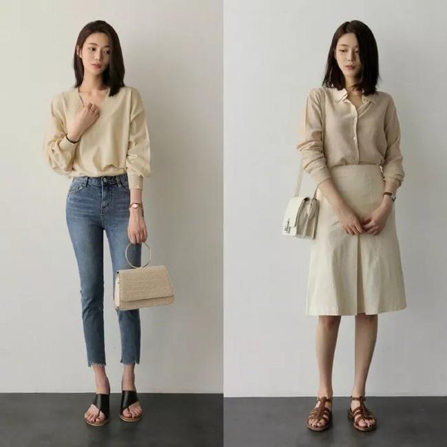 """Áo phông, chân váy hay quần âu - Loạt đồ có sẵn chỉ cần 20 cách """"mix"""" này là mặc đẹp suốt cả tháng 9 - Ảnh 2."""