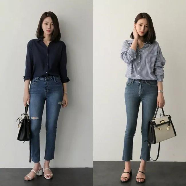 """Áo phông, chân váy hay quần âu - Loạt đồ có sẵn chỉ cần 20 cách """"mix"""" này là mặc đẹp suốt cả tháng 9 - Ảnh 7."""