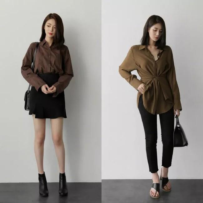 """Áo phông, chân váy hay quần âu - Loạt đồ có sẵn chỉ cần 20 cách """"mix"""" này là mặc đẹp suốt cả tháng 9 - Ảnh 10."""