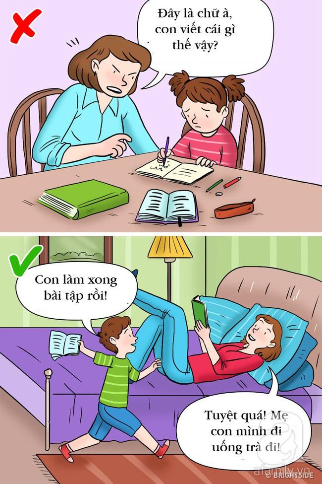 3 lý do giải thích vì sao việc cha mẹ kèm con làm bài tập về nhà là sai lầm - Ảnh 1.