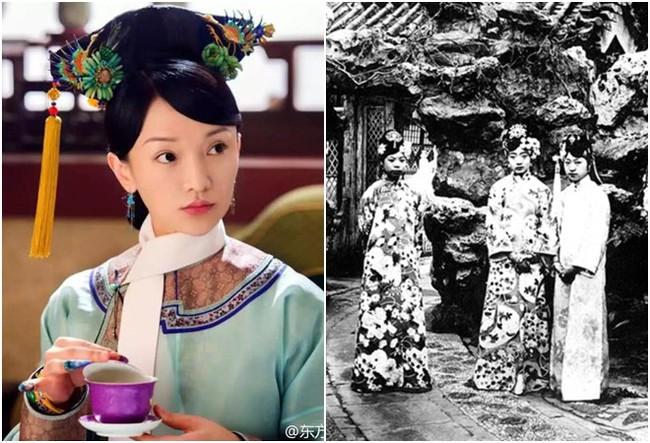 Dân tình lại ngã ngửa trước hình ảnh được cho là nhan sắc đời thực của Ngụy Anh Lạc và dàn phi tần nhà Thanh - Ảnh 6.