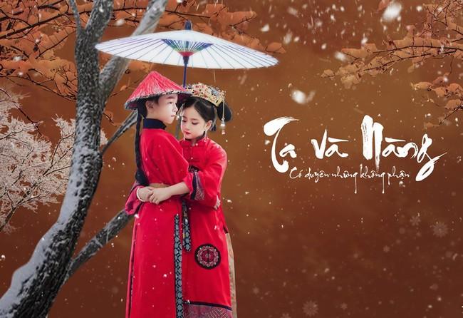 Cặp mẫu nhí Hà thành hóa thân xuất sắc trong bộ ảnh Diên hy công lược phiên bản Việt - Ảnh 1.