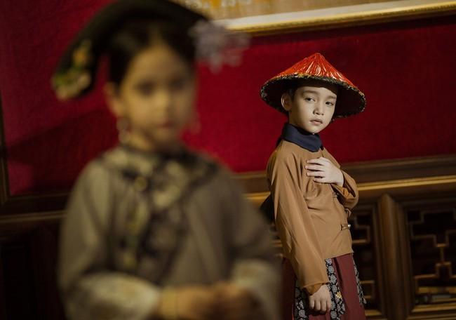 Cặp mẫu nhí Hà thành hóa thân xuất sắc trong bộ ảnh Diên hy công lược phiên bản Việt - Ảnh 11.