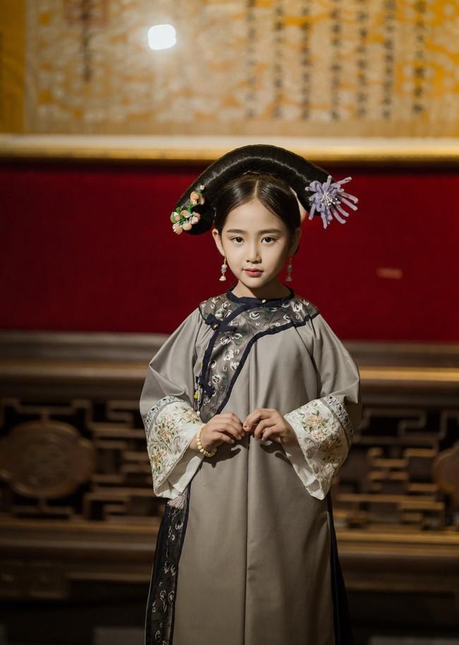 Cặp mẫu nhí Hà thành hóa thân xuất sắc trong bộ ảnh Diên hy công lược phiên bản Việt - Ảnh 12.